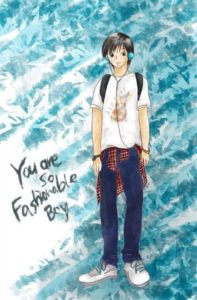 Fashionable Boy|Procreate
